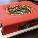 NASCAR Track Cake