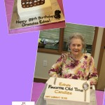 Grandma Edna 89th Birthday Box of Chocolates Cake