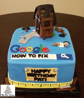 Mr Fix It birthday cake
