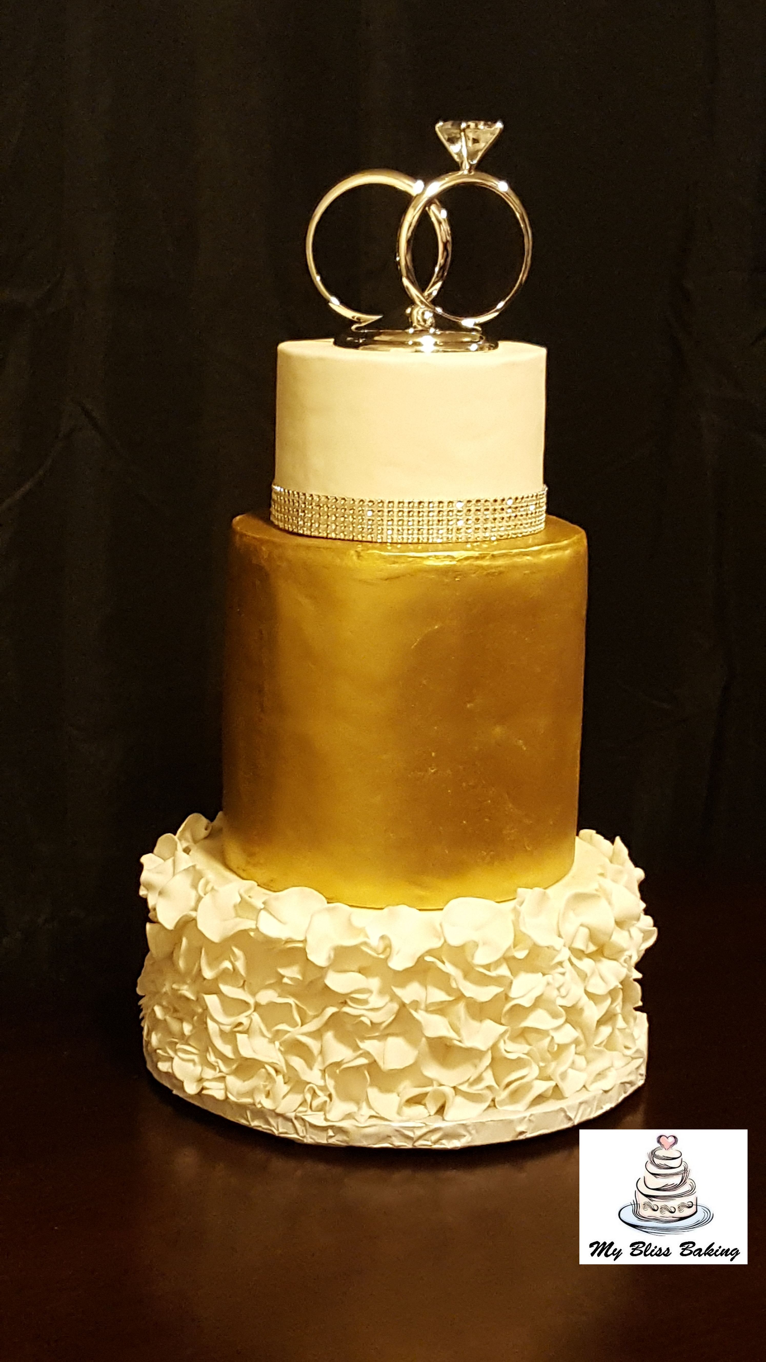 Custom Fondant Cakes | My Bliss Baking, LLC.