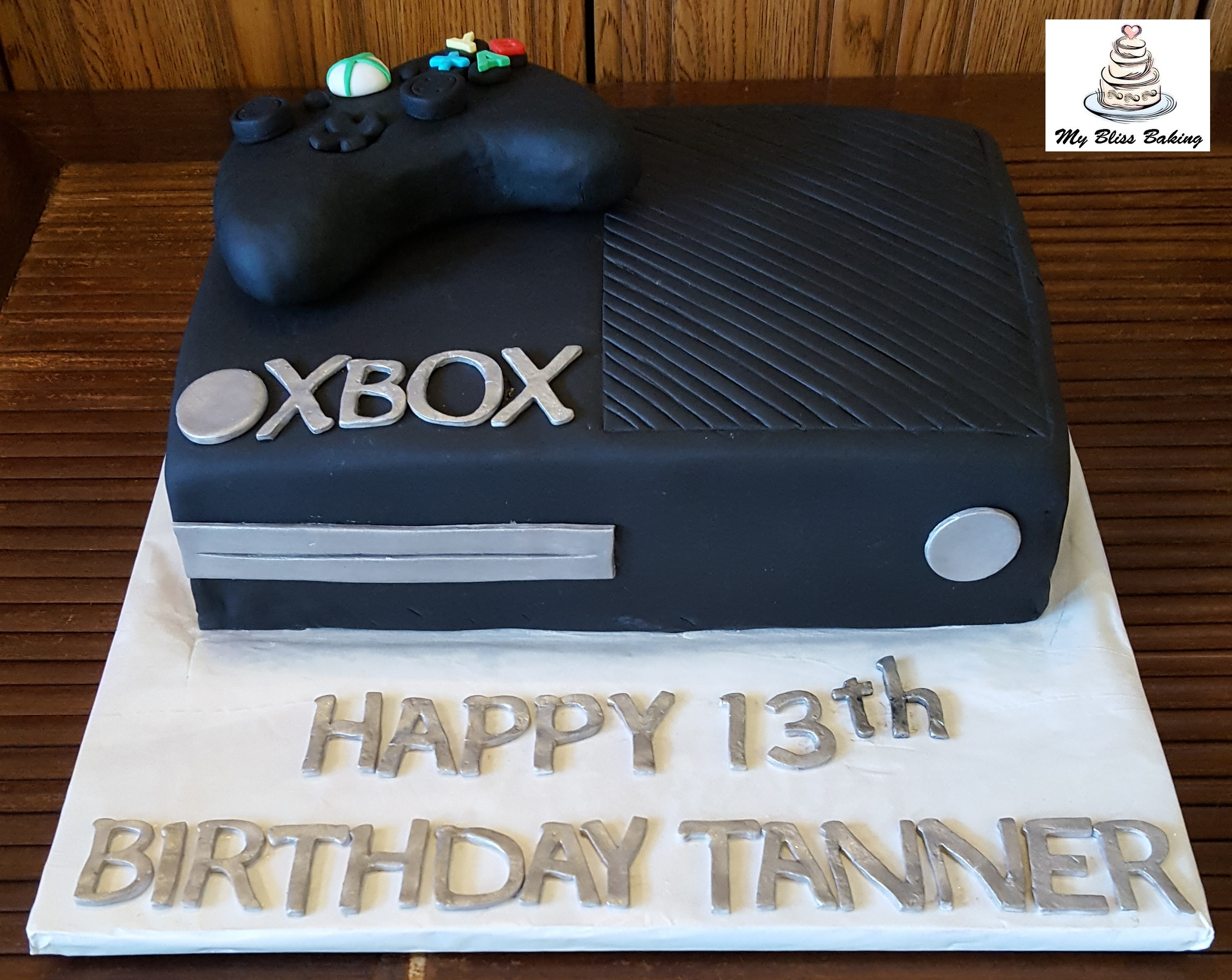 XBox Birthday Cake My Bliss Baking LLC