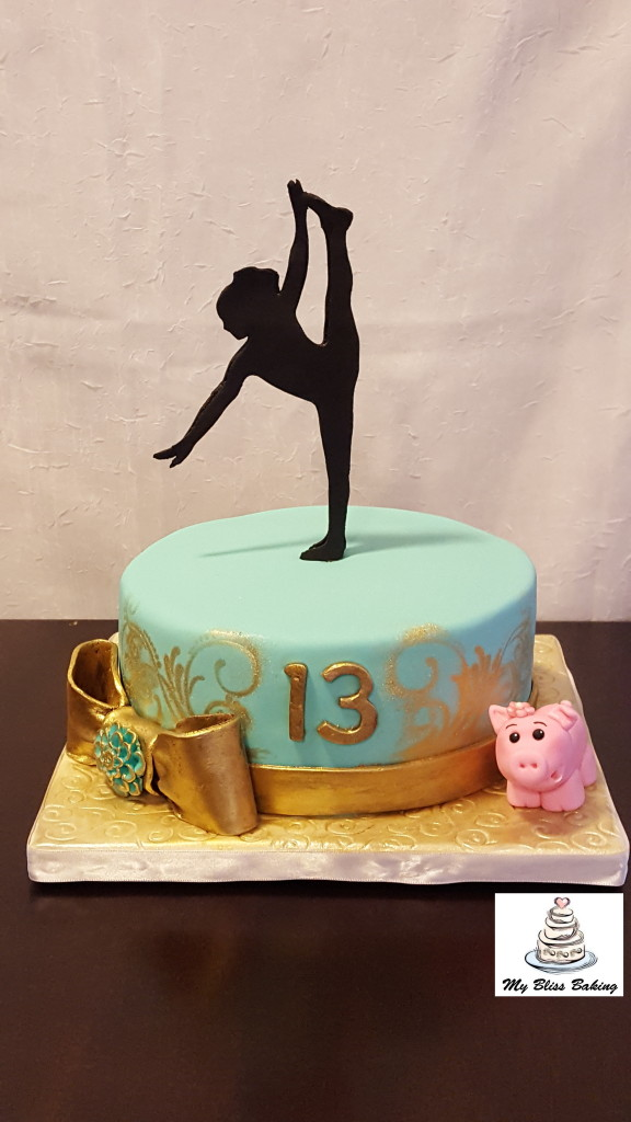 dancer-birthday-cake