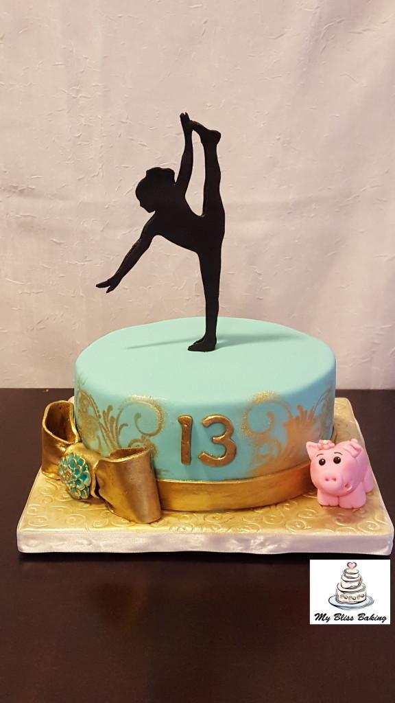 dancer-birthday-cake